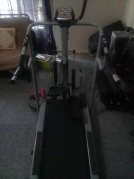 3 in 1 Manual Treadmill