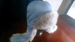 Детская зимняя шапка Chicco