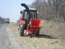 Щеподробилка на трактор