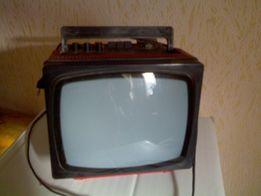 Маленький телевизор,переносной,Электроника 23ТБ 316Д,СССР,мини,чернобе