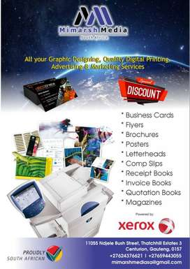 Graphic Designing and Printing offering range of products