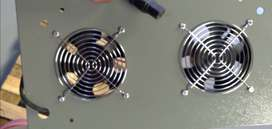 Electro plated cooling fans