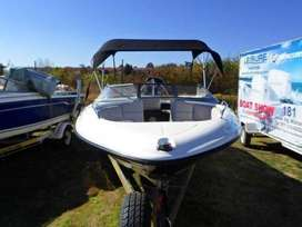 Sunsport 170 with 115hp Mercury optimax outboard motor