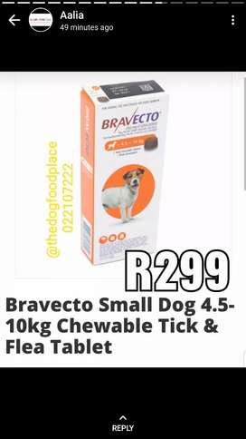 Bravecto tablets for ticks and fleas control