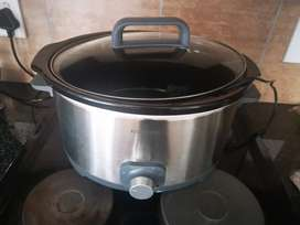 LG microwave and Slow cooker