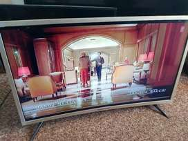Supersonic 32inch curve led tv with remote control working percent
