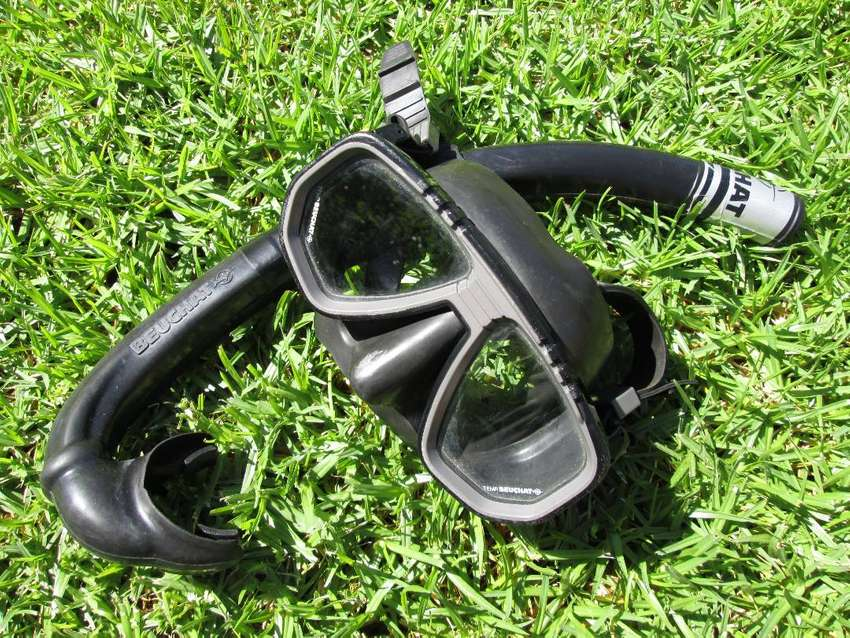 Beuchat mask, diving, diver, Strato, snorkel 0