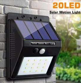 Solar motion sensor wall light M