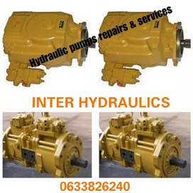 Hydraulic pumps for mining equipment repair and services