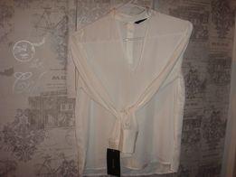 ZARA/ elegancka biała bluzka/ rozm.36