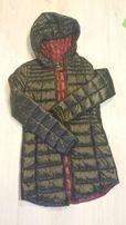 Długa czarna kurtka - płaszcz - kupiona w Reserved - XS