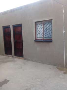 two separate rooms for rental at emangweni