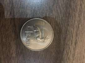 Old 1 rand coin