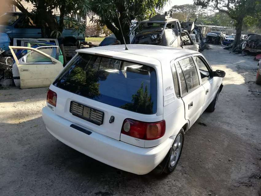 Toyota Tazz 130 now stripping for parts