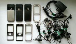 Корпус/панель для Nokia 6300, 6233, гарнитуры, ЗУ, кабель(цена за все)