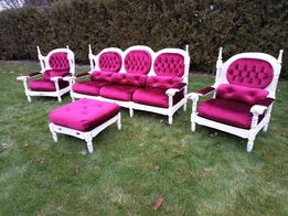 Мягкая часть Диван 2 крісла пуфік шеббі шик барокко рококо