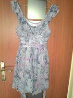 Piękna sukienka Lipsy London, mazana, kolorowa