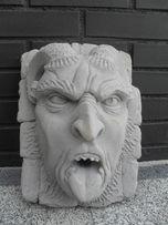 twarz diabła lucyfer diabeł szatan fontanna ozdoba