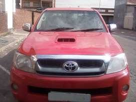 Toyota hilux, model 2008, engine 3.0D4D , mileage 98000km