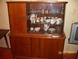 Продам Шкаф для посуды из гостинного гарнитура ГДР