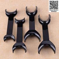 Ретракторы для губ, роторасширители черные (набор 4шт)