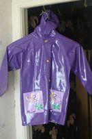 Детский плащ-дождевик на 3-5 лет