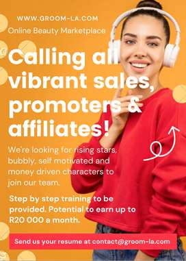 Sales/Promoters/Affiliate freelancers needed