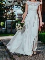 Suknia ślubna Ada Love Lorien rozmiar 36 38 welon ślub wesele