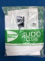 Кимоно для дзюдо green hill club белое рост 150 см