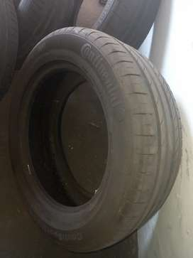 4 Continental 18 inch runflat tyres