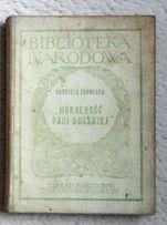 Moralność Pani Dulskiej Biblioteka Narodowa Z.N. Ossolińscy unikat