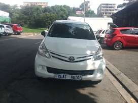 TOYOTA AVANZA WITH AN ENGINE CAPACITY OF 1,3