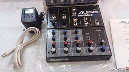 NOWY mikser ALESIS MultiMix 6 USB okazja wysyłka GRATIS