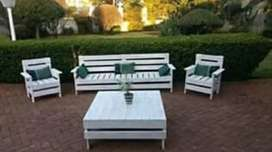 Patio Furniture.. Wooden benches.. Outdoor furniture.. Gardens sets