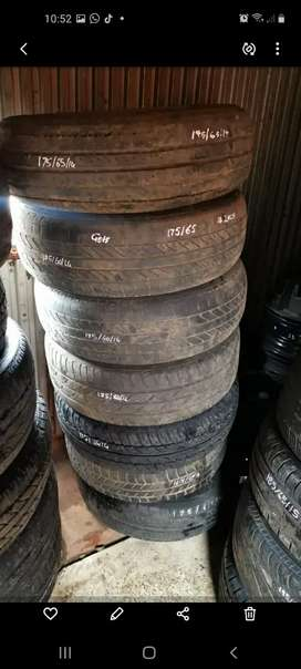 Tyres from R300 13 to 17 duim tyres