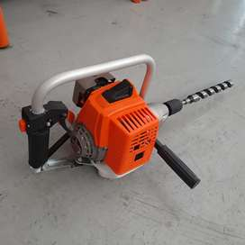 Petrol powered drill