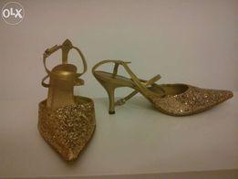 Buty złote nr.38
