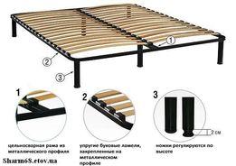 Ламелевые каркасы для кроватей - Все размеры