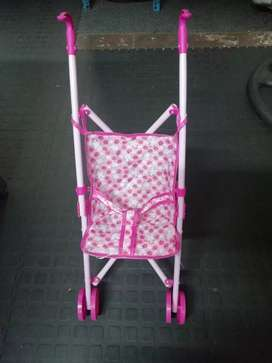 Kiddies doll pram