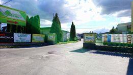 Plac parkingowy parking TIR 3000m2