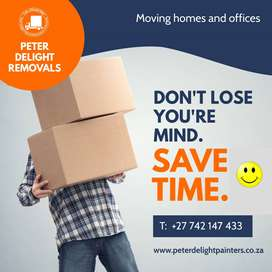 Moving office and home transport by Peter Delight Removals