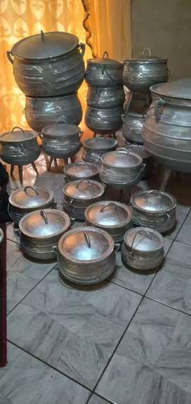 Traditional pots all sizes