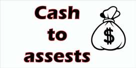 Cash to assets