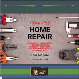 Titos PRO Home Repair Services in Cape Town