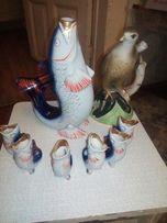 Продам статуэтки рыбки