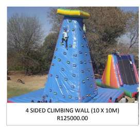 Inflatable Rock Wall To Swop or Sell