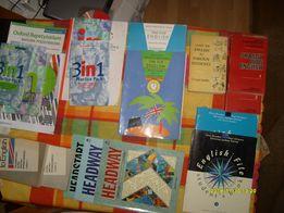 Książki (podręczniki) do nauki języka angielskiego
