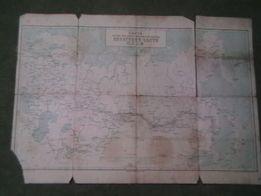 Карта железных дорог водных и шоссейных дорог