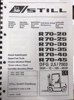 Dokumentacja techniczna Still R 70-30