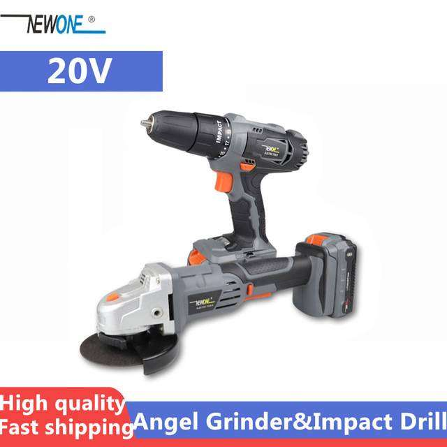 Combo Cordless Drill and Grinder with Free Gift 0
